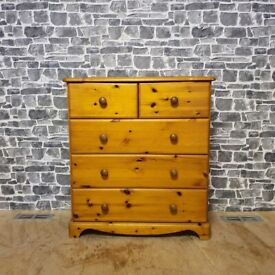 Pine Chest of Drawer