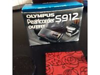 Olympus Pearlcorder Outfit