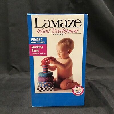 Lamaze Stacking Rings Infant Development Phase 3 Learning Curve NEW/SEALED