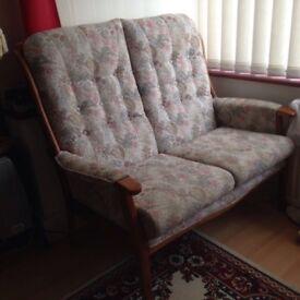 2 x 2 seater sofas , good condition