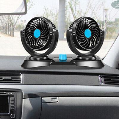 Ventola per auto a doppia testa 12 Volt Car Trucking Air Ventilatore per