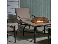 Nevada fire pit table