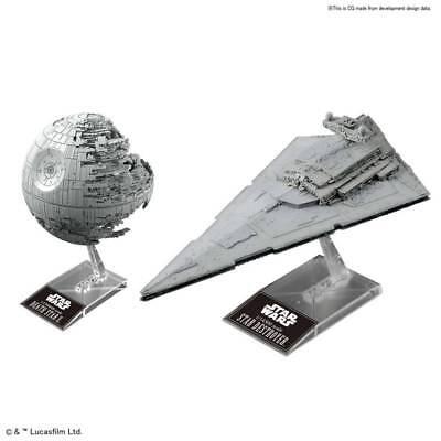 Vehicle Model 013 Death Star II Model Kit Bandai STAR WARS