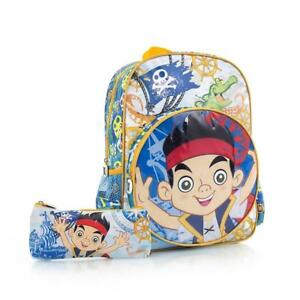 Heys Disney Jake & The Never Land Pirates Kids Backpack with Pencil Case 15 inch