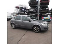 VAUXHALL ASTRA H DRIVERS SIDE DOOR GREY BREAKING SPARES PARTS 1.6 PETROL