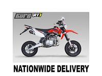 KURZ RT1 125 Supermoto - Road Legal Pit Bike - CBT Learner Legal - Pitbike