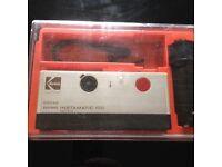 Kodak 100 instamatic camera 1980s