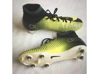Boys Nike Mercurial CR7 football boots