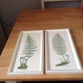 Marks & Spencer Green Wall Plaques