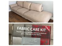 £100 for quick sale! Harvey's sofa, good condition with free cleaning care kit.