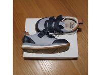 Clarks Ferris Cap First Shoes