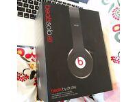 Dr Dre Beats Solo HD Headphones in Black