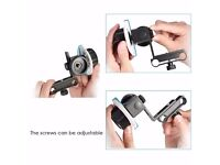Neewer Follow Focus with Gear Ring Belt for Canon Nikon Sony and Other DSLR Camera Camcorder