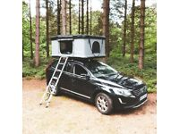 Extra Large RoofBunk Hard Shell Car Roof Top Tent - Dark Grey