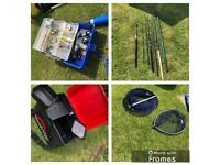 Fishing Equipment (rods, reels, box seat + more)