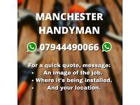 TV / Shelf wall mounting - Handyman Services - Major Maker ltd