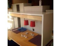 Modern TV Counter Unit with Storage