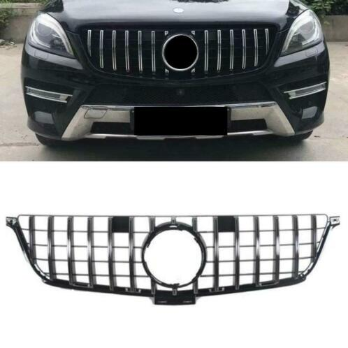 Grill voor MERCEDES-BENZ W166 ML chrome