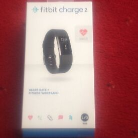 FITBIT CHARGE2HEART RATE AND FITNESS WRIST BAND BLUETOOTH GPS