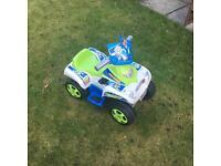 Buzz Lightyear electric quad bike