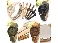 Wooden Watches - End of stock sale - High Quality Quartz's Watch