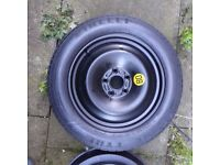 Ford mondeo mini spare wheel