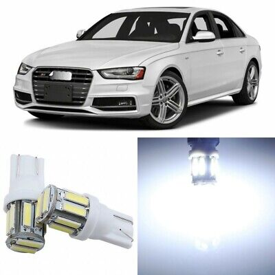 18 x Super Bright White Interior LED Lights Package For 2009- 2016 Audi A4 S4 B8