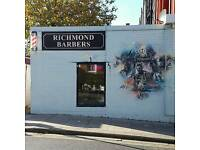 Professional barber REQUIRED for Richmond Barbers