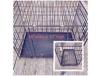 Medium dog crate 30 inch