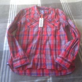 Men's Superdry checked shirt