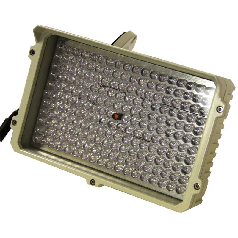 New US-LED-IR100 White LED Spot Light 250 Feet 114 Led light with Power Supply