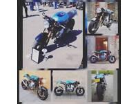 Suzuki bandit 600 cafe racer