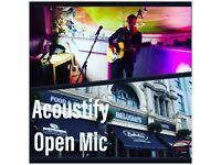 Monday Open Mic at Belushi's Hammersmith - late night