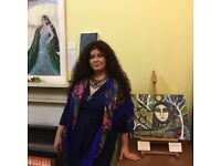 Tarot, oracle and intuitive art readings with Faiizah the Good Witch