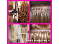 Hair Extension Technician - 3 methods.... trade marked trained in the latest LA trend!