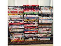 100 Assorted Film DVDs