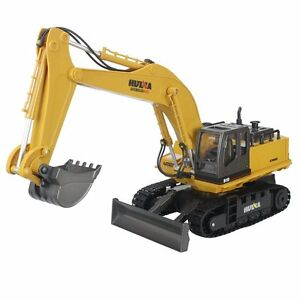 Huina Alloy 11 Channel 2.4G Crawler Full-Function Remote Control Excavator