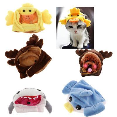 Pet Shark Costume (Pet Small Dog Cat Costume Hat Reindeer Duck Ballonfish Shark Cosplay)