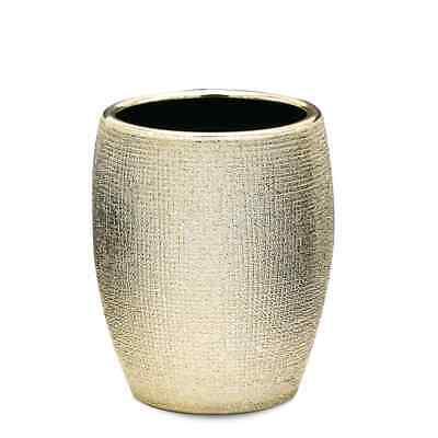 RIDDER Vaso de Lavabo Dorado Portacepillos Tazas Accesorios para el Baño