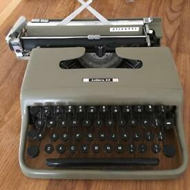 *SOLD* Vintage 50s / 60s Olivetti Typewriter FREE to collector