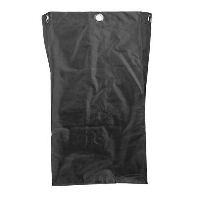 Janitorial Cart Bag Cleaner Storage Case For Industrial Housekeeping Black