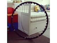 Weighted hoola hoop