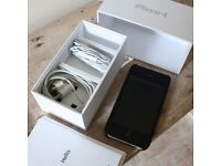Apple iphone 4 8gb Vodafone Mobile Smartphone VGC Incl. incase cover, headphones, box, charger PLYM