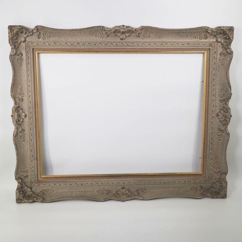 """Vintage Large 25""""x31""""  Wood Ornate Picture Frame for 18""""x24"""""""