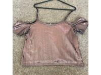 Copper cut out detailed top