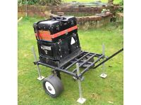 A S I contenetal box with original trolley for box