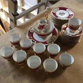 Victorian Bone China Tea Set