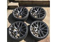 BMW 20 Inch CSL VMR Alloy Wheels with TYRES - Alloys - E60 F10 F30 F80 E90 3 5 6 series