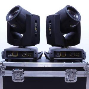 Solaris Hitman X2 - 230W Moving Head Beam with Stackable Prisms