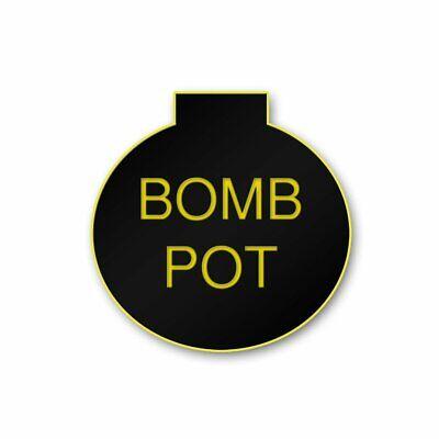 Bomb Pot Dealer Button Poker Texas Hold em.